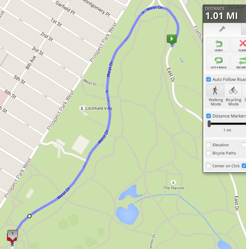 Prospect Park Mile 3 (Measured)